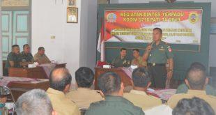 Pembinaan Teritorial Terpadu Serentak Dilakukan Kodim Pati Memperdayakan Pertahanan Wilayah
