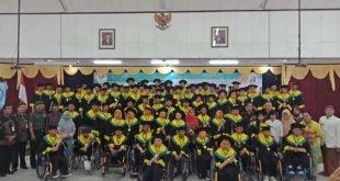 Pjs Danramil 04/Jebres Hadiri Wisuda/Pelepasan Penerima Manfaat BBRSPDF Prof. DR. Soeharso Surakarta