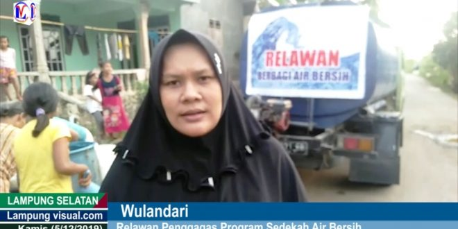 Relawan Sosial Kecamatan Sidomulyo Alokasi Kan Air Bersih Untuk Warga