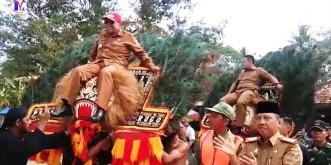 Bupati Lampung Tengah Resmikan Pendopo Kampung Jaya Sakti