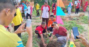 """Hade Camat Lambu Kibang Galakkan Program """"BERSAHABAT"""" Bersih Sehat Bersama Tiyuh"""