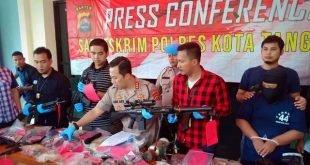 Kapolresta Tangerang, Amankan Oknum Karyawan BUMN Perakit Senpi Ilegal
