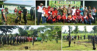 Dimotori Kodim, Forkopimda Pati Lakukan Penanaman Pohon, Ini Tujuannya