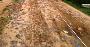Warga Dusun Sriharjo Mimpikan Jalan Mulus