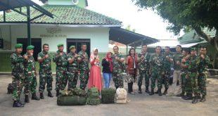 """Semua demi Merah Putih"""", Empat Babinsa Kodim Pati Bertugas ke Papua"""