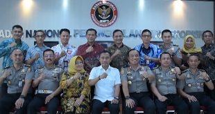 Karo Binkar Polri Kunjungi BNPT Bahas Jabatan Fungsional dan Kerjasama Screening Pejabat dari Bahaya Terorisme