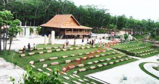 Indahnya Panorama Rumah Tradisional Masyarakat Lampung di Tubaba