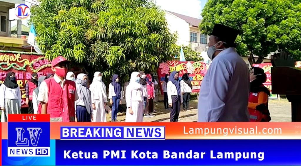 Deddy Lepas Relawan Pmi Sosialisasi Phbs Dan Membagikan Masker Gratis Lampungvisual Com