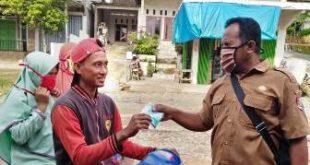 Pemerintah Desa Sukamenanti Aktifkan Peran Posko dan Portal Jalan Pantau Pemudik
