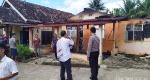 Satu Rumah Milik Warga  Pekon Banding Agung Ludes Terbakar