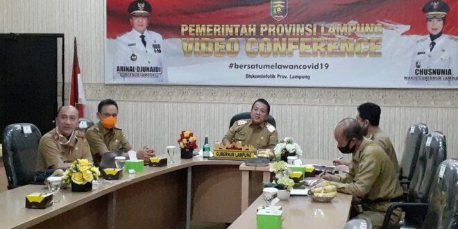 Gubernur Lampung Menghadiri Rapat Pembahasan Progres Pembangunan Kawasan Industri Dengan Kemenperin