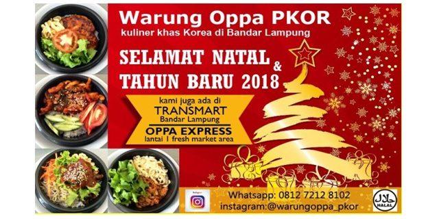 Warung Oppa  Kuliner Khas Korea Di Bandar Lampung