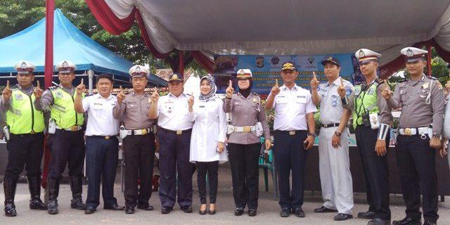 Jelang Natal dan Tahun Baru Polres Lampung Tengah Cek Kelaikan Kendaraan