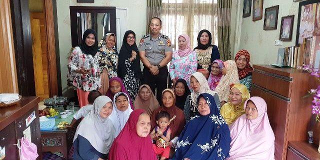 Laksanakan Program Promoter Kapolri, AIPTU RP Siregar Sambangi Warga