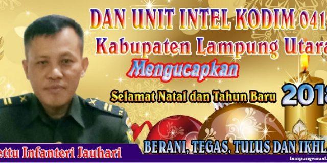 DAN UNIT INTEL KODIM 0412 LAMPUNG UTARA
